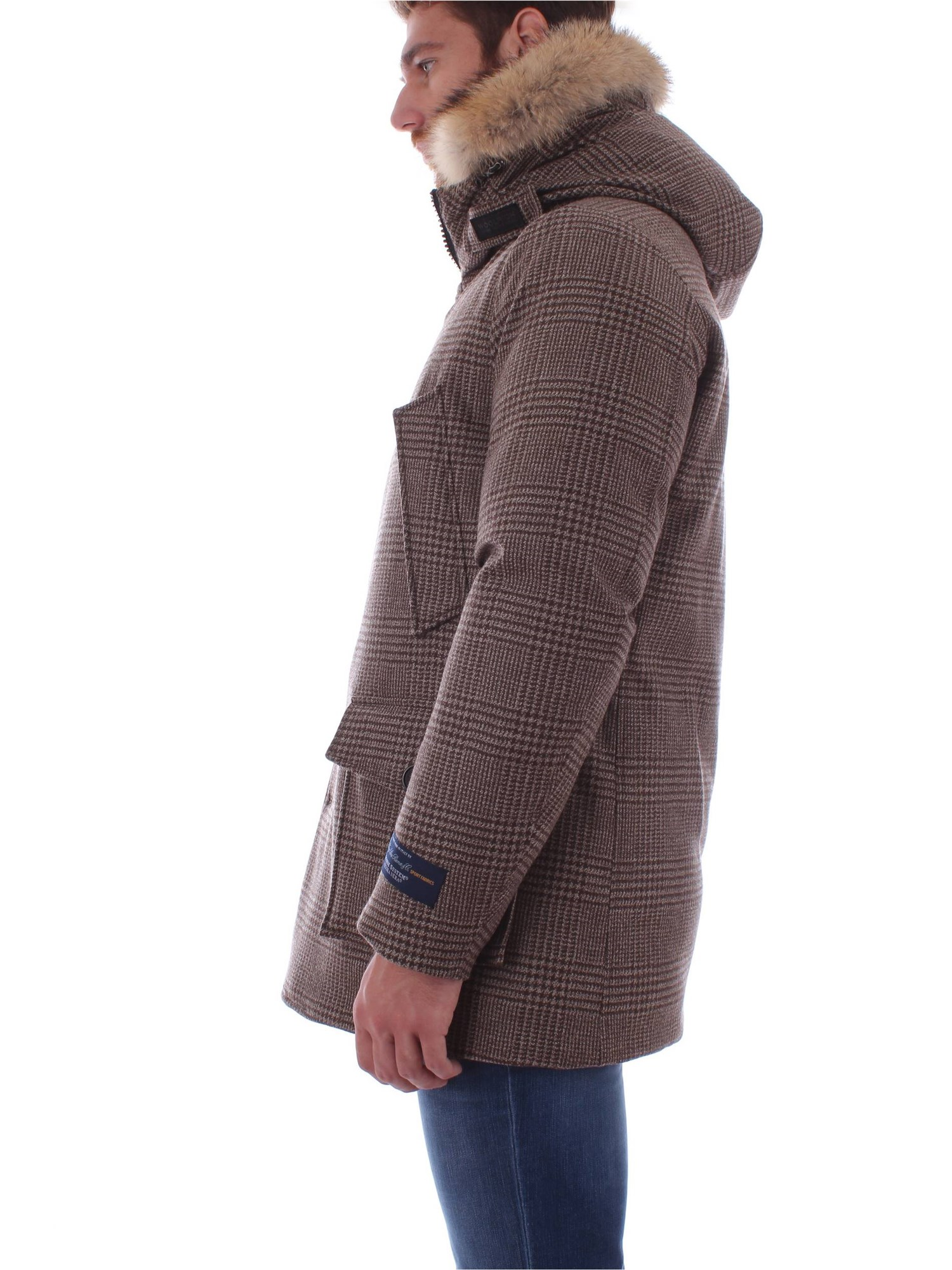4958 Prince Of hiver Parka Automne Woolrich Homme Wales Wocps2716 5wEq8EnI1