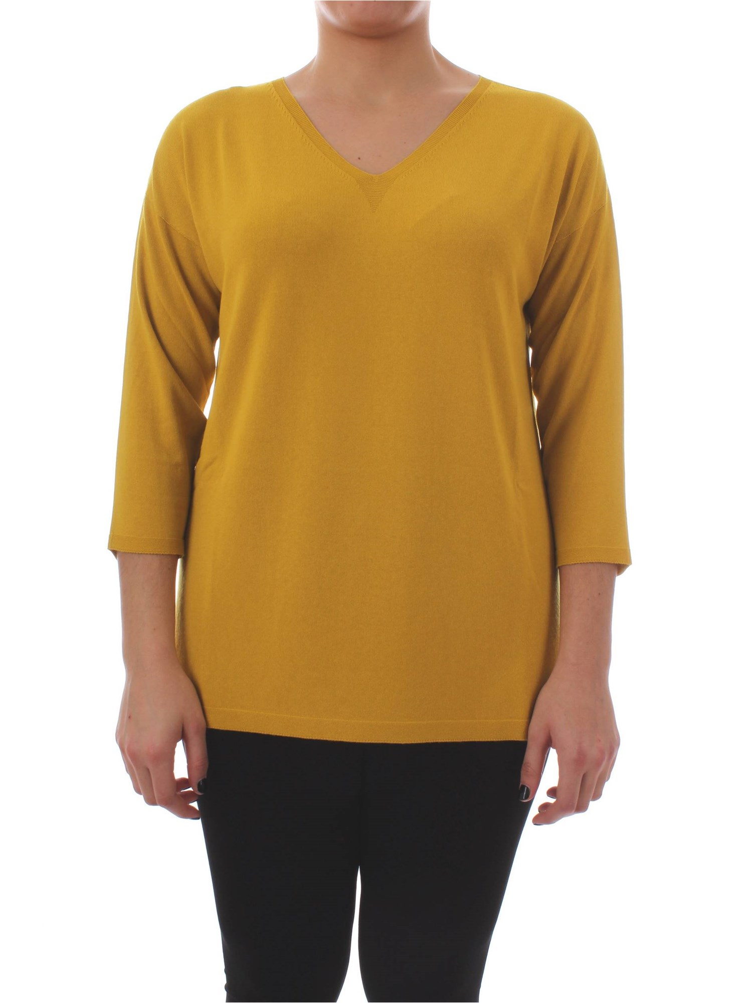 70c12ef7c67 Jumper Persona By Marina Rinaldi Woman - Yellow - Buy Jumper On line ...