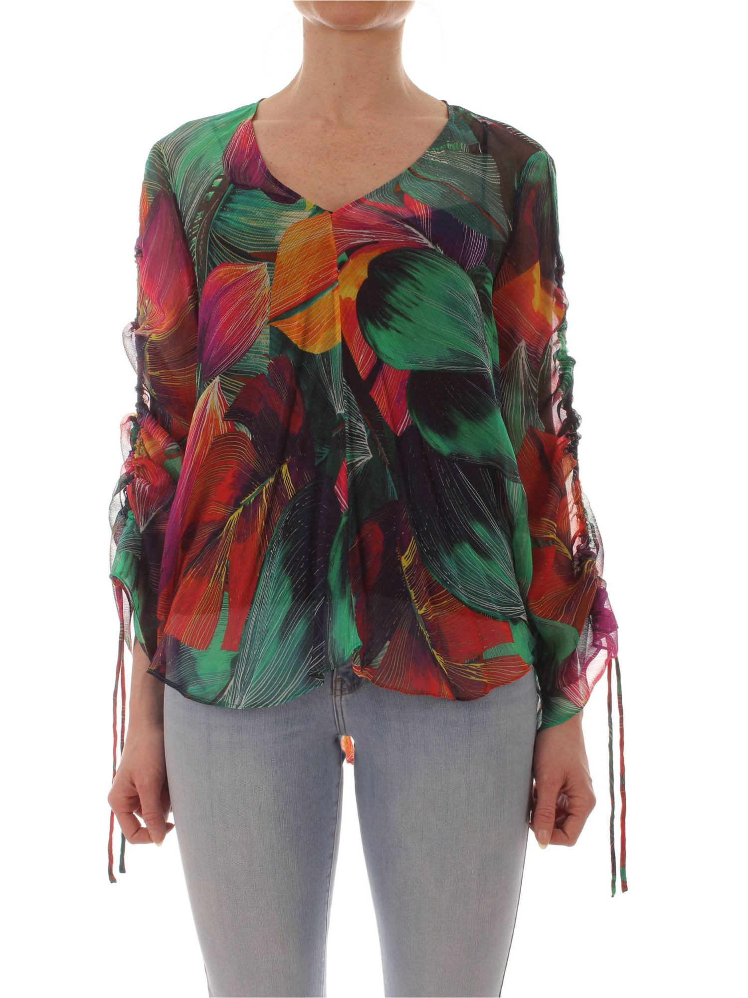 82619c36e5 Blouse Pinko Woman - Multicolor - Buy Blouse On line on Gruppo Raffaella