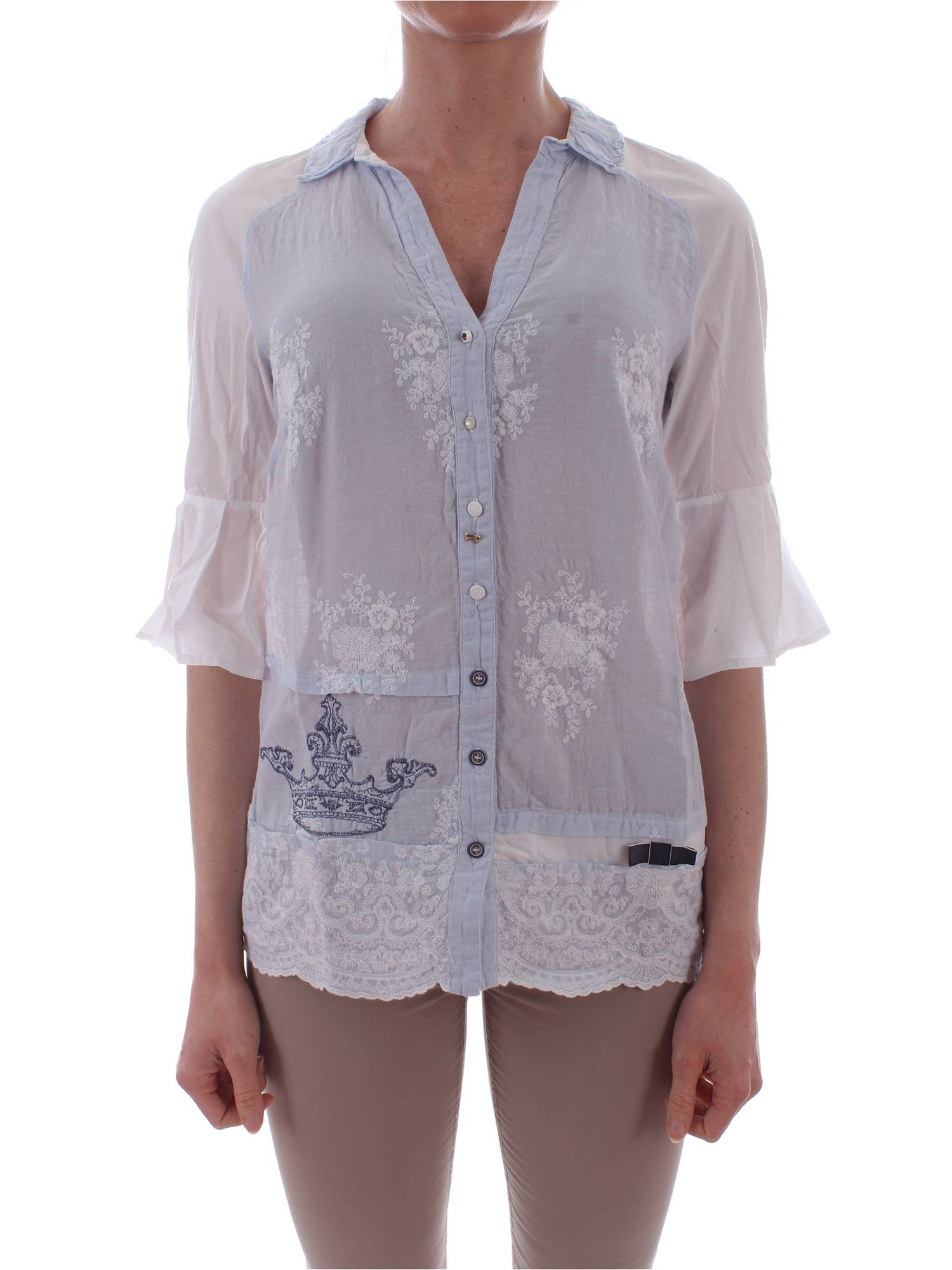 26728f3b729 Blouse Elisa Cavaletti Woman - White - Buy Blouse On line on Gruppo ...