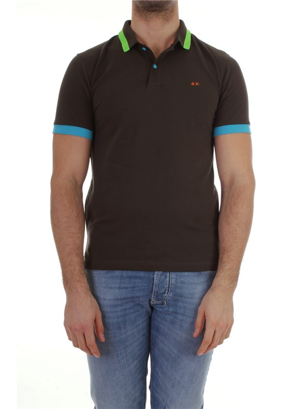 Sun 68  Polo shirt A18116 Man