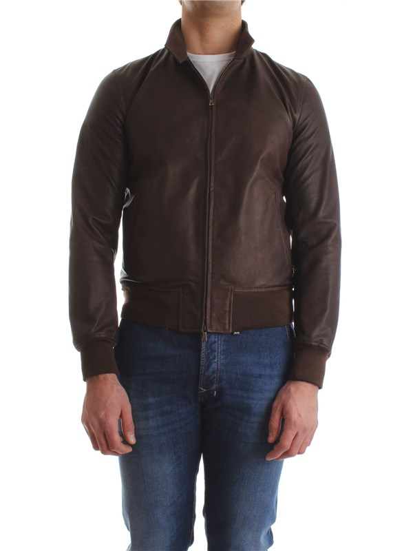 Stewart Leather Jacket GJKU180SSSCOSZ Man