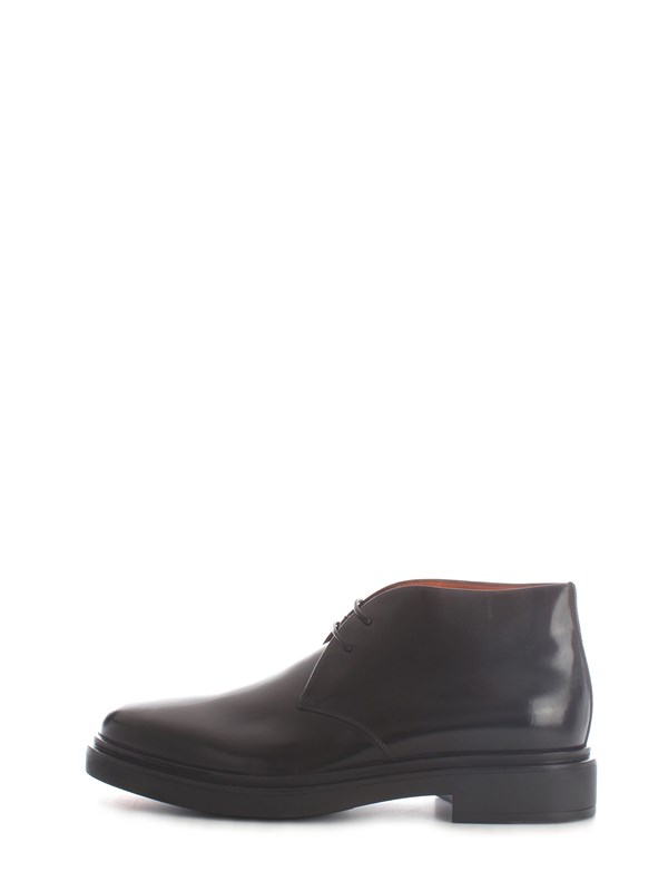 Santoni Lace ankle boots MGWB10002NERIOLCN01 Man