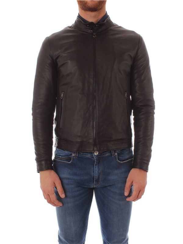 Bruto Leather Jacket U10M003 Man