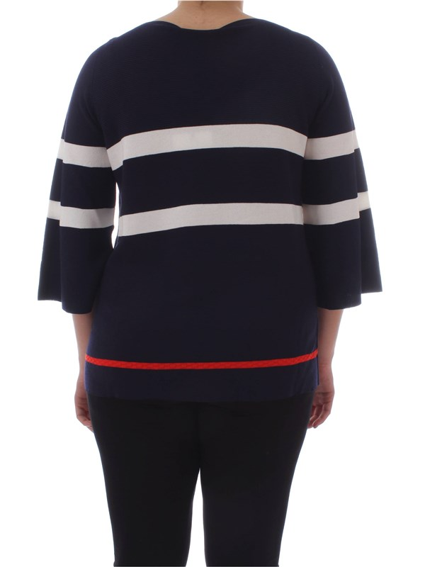 8ae3e580091 Jumper Persona By Marina Rinaldi Woman - Navy - Buy Jumper On line ...