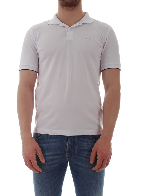 Sun 68  Polo shirt A19106 Man