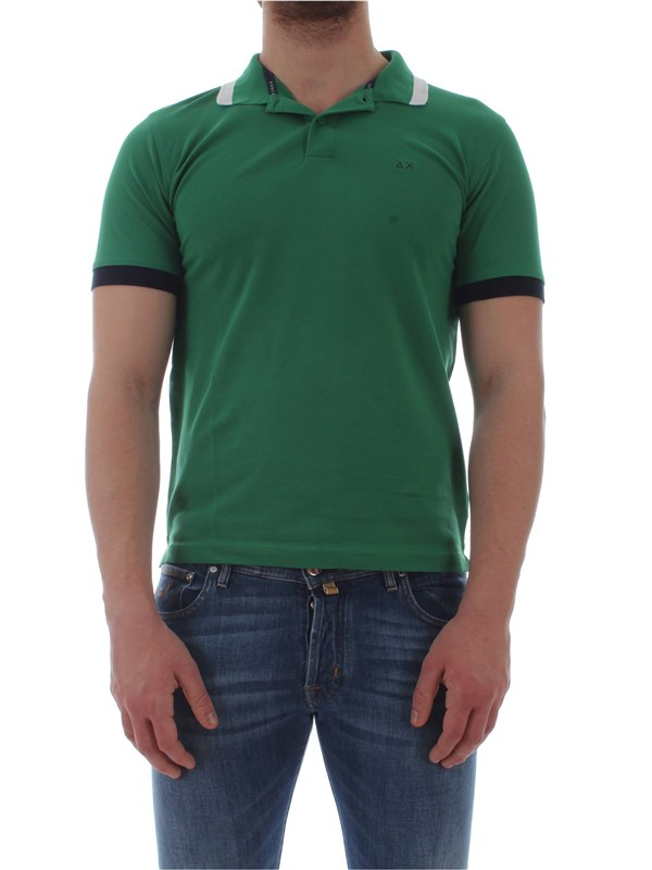 Sun 68  Polo shirt A19107 Man