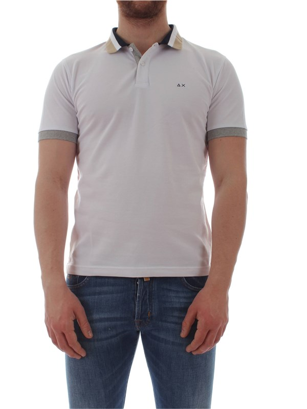 Sun 68  Polo shirt A19109 Man