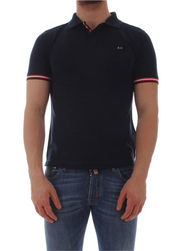 Sun 68  Polo shirt A19111 Man