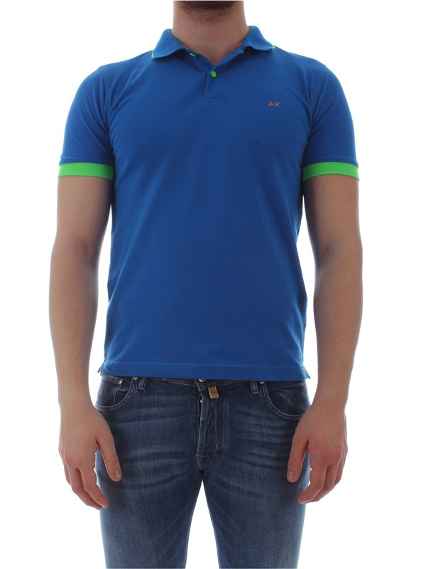 Sun 68  Polo shirt A19117 Man