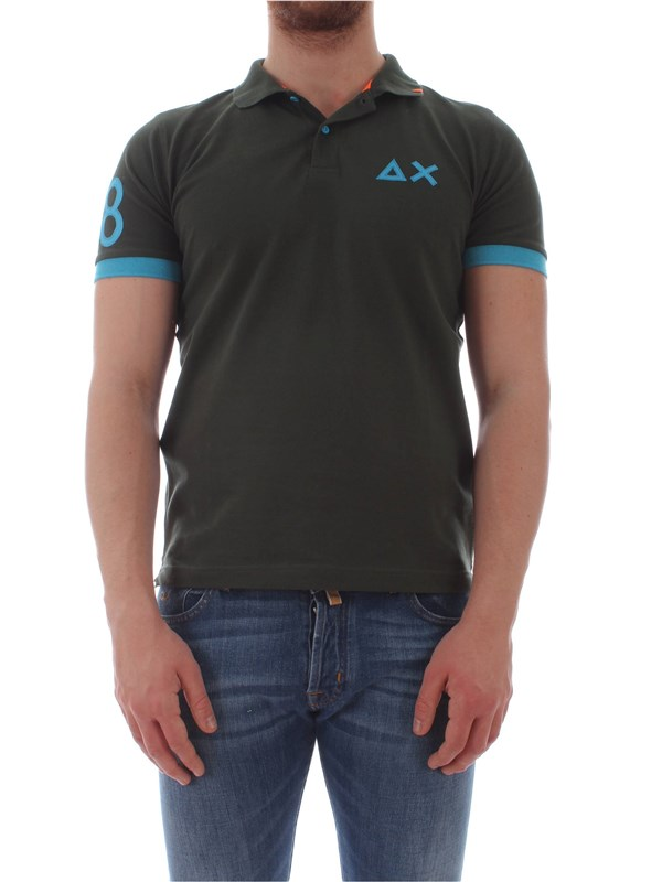 Sun 68  Polo shirt A19118 Man