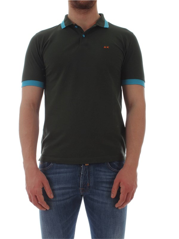 Sun 68  Polo shirt A19119 Man