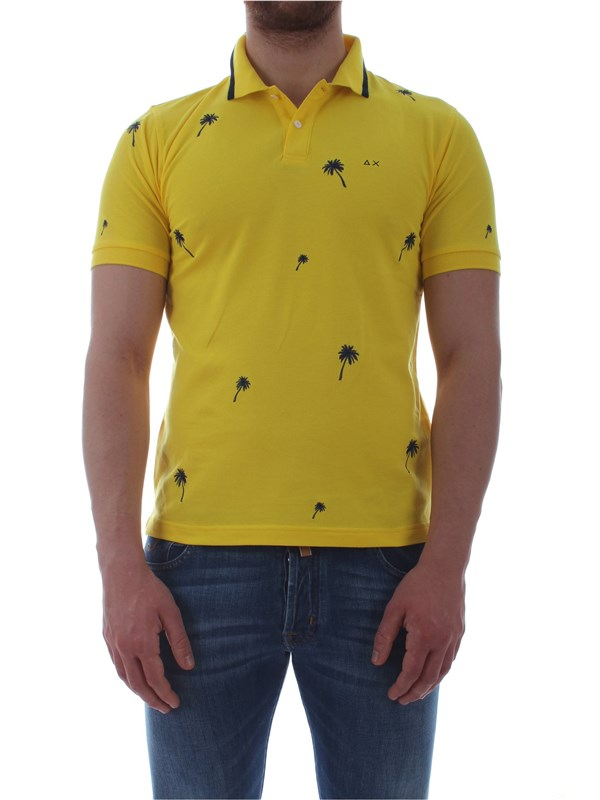 Sun 68  Polo shirt A19122 Man