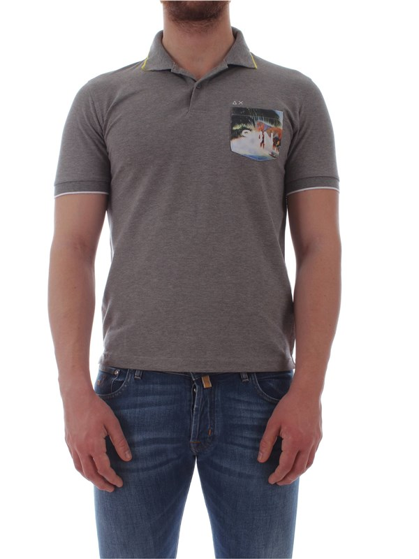 Sun 68  Polo shirt A19123 Man