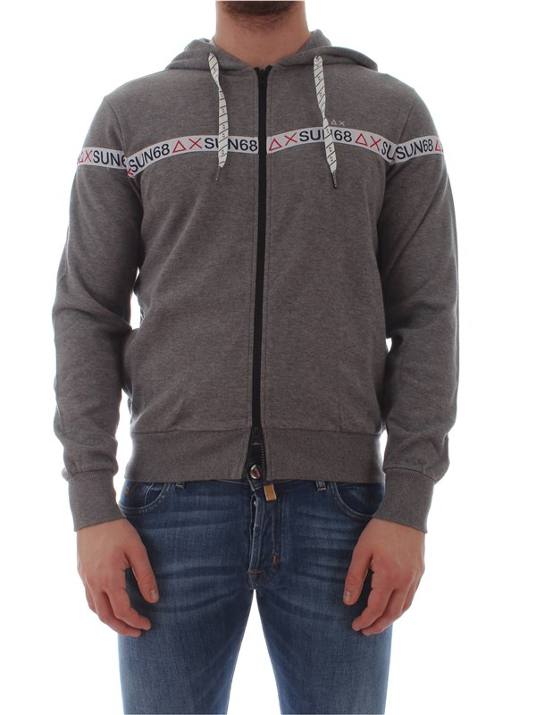 Sun 68  Sweater F19111 Man