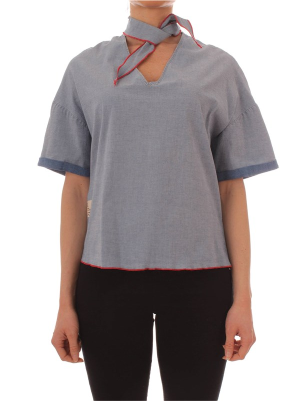 Manila Grace Blouse C218DU Woman