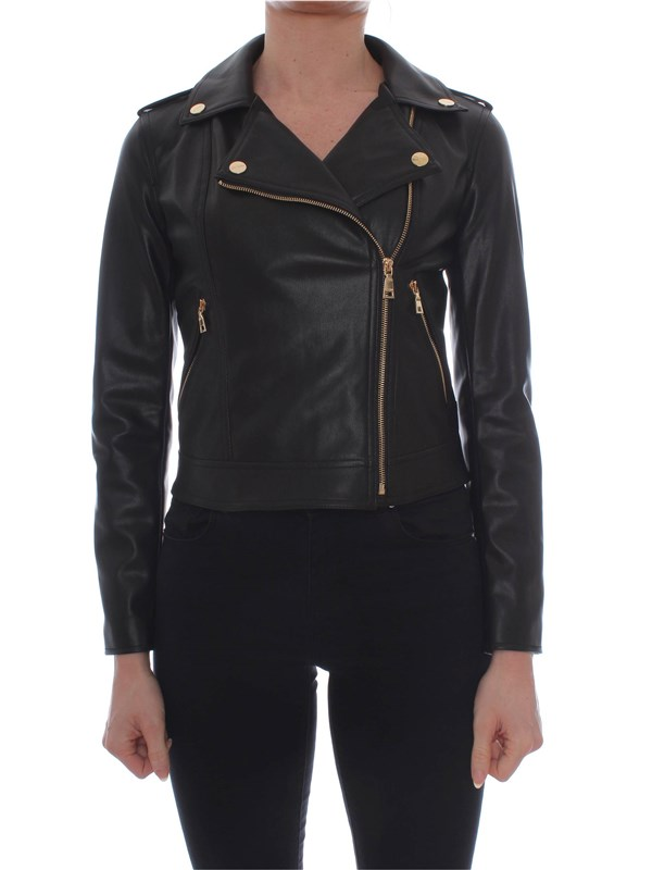 My Twin Leather Jacket 191MP2051 Woman