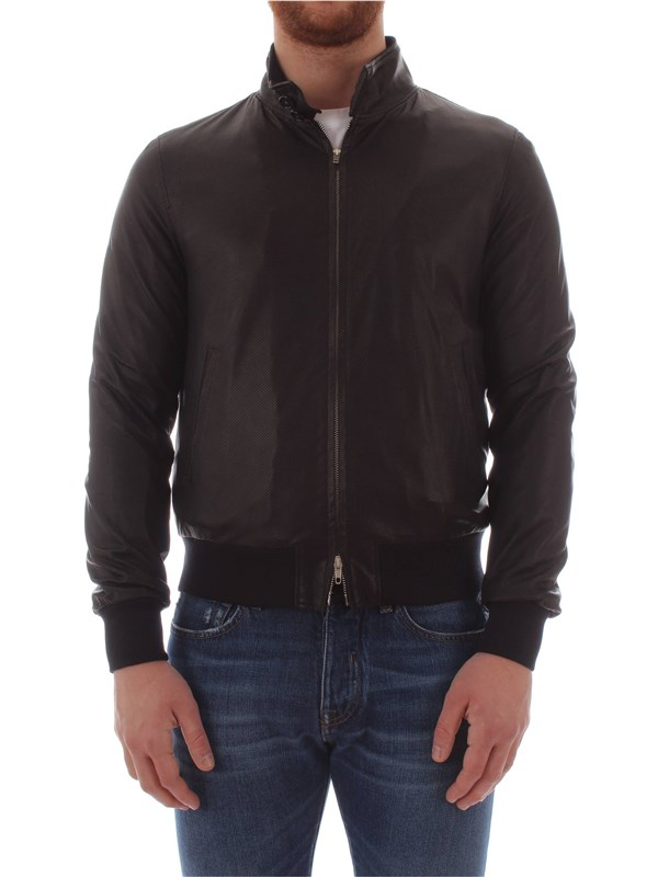 Bruto Leather Jacket U10M0011 Man