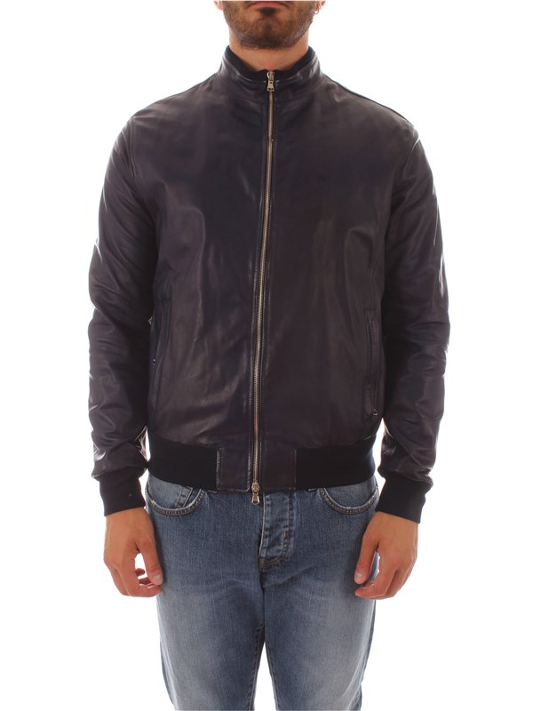 Barba Leather Jacket CGP FOX BL Man